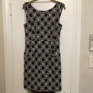 Plenty by Tracy Reese Geometric Black White Dress